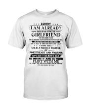 Gift for boyfriend T06 June T3-153 Classic T-Shirt front
