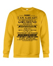 Gift for boyfriend T06 June T3-153 Crewneck Sweatshirt thumbnail