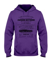 I AM A LUCKY GIRL I HAVE AN AWESOME BOYFRIEND - 6 Hooded Sweatshirt thumbnail