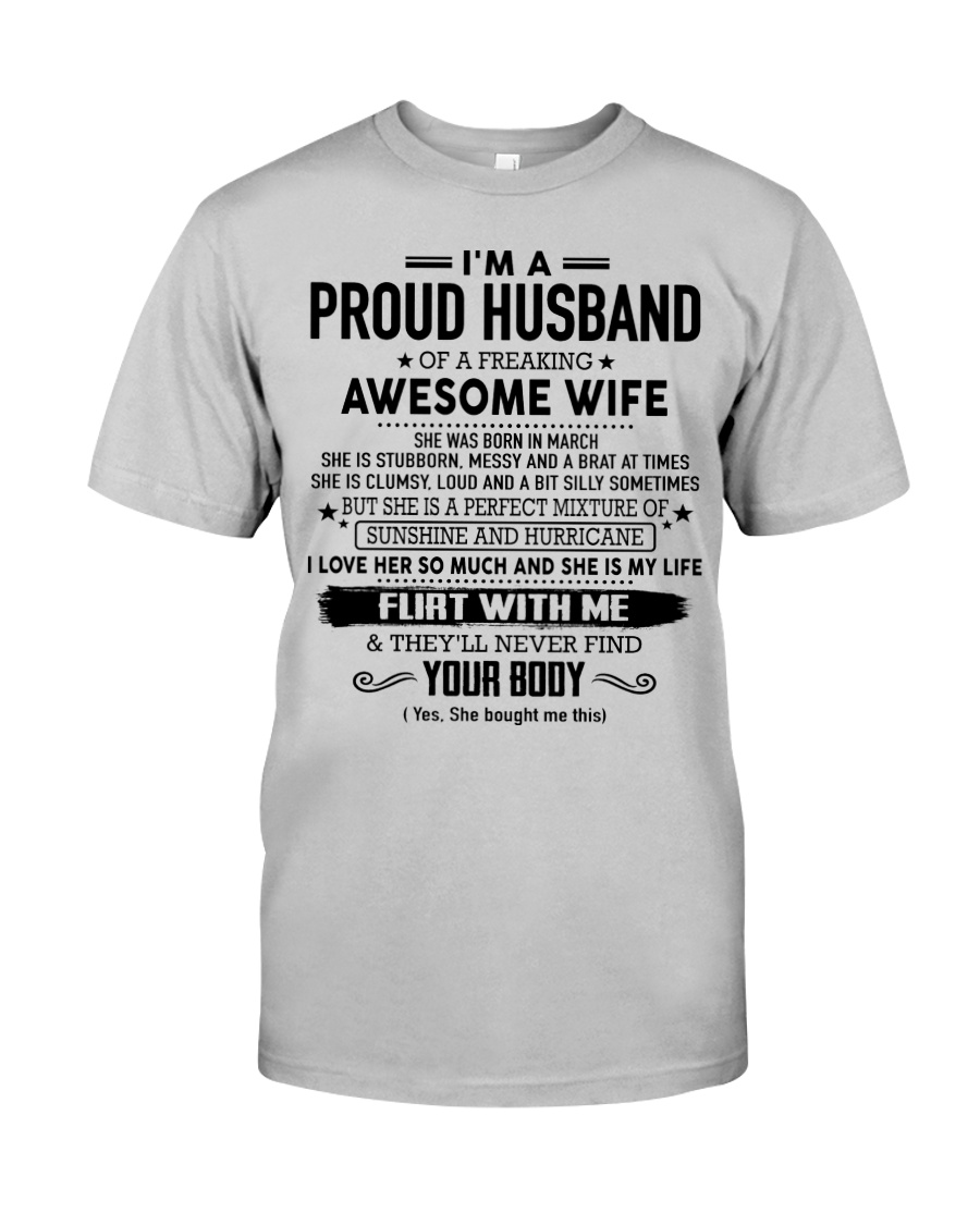 Perfect gift for husband AH03 Classic T-Shirt