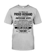 Perfect gift for husband AH03 Classic T-Shirt front