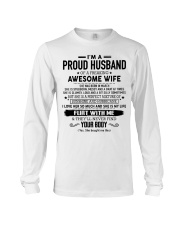 Perfect gift for husband AH03 Long Sleeve Tee thumbnail