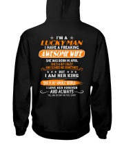 Lucky man - April  toan04 Hooded Sweatshirt thumbnail