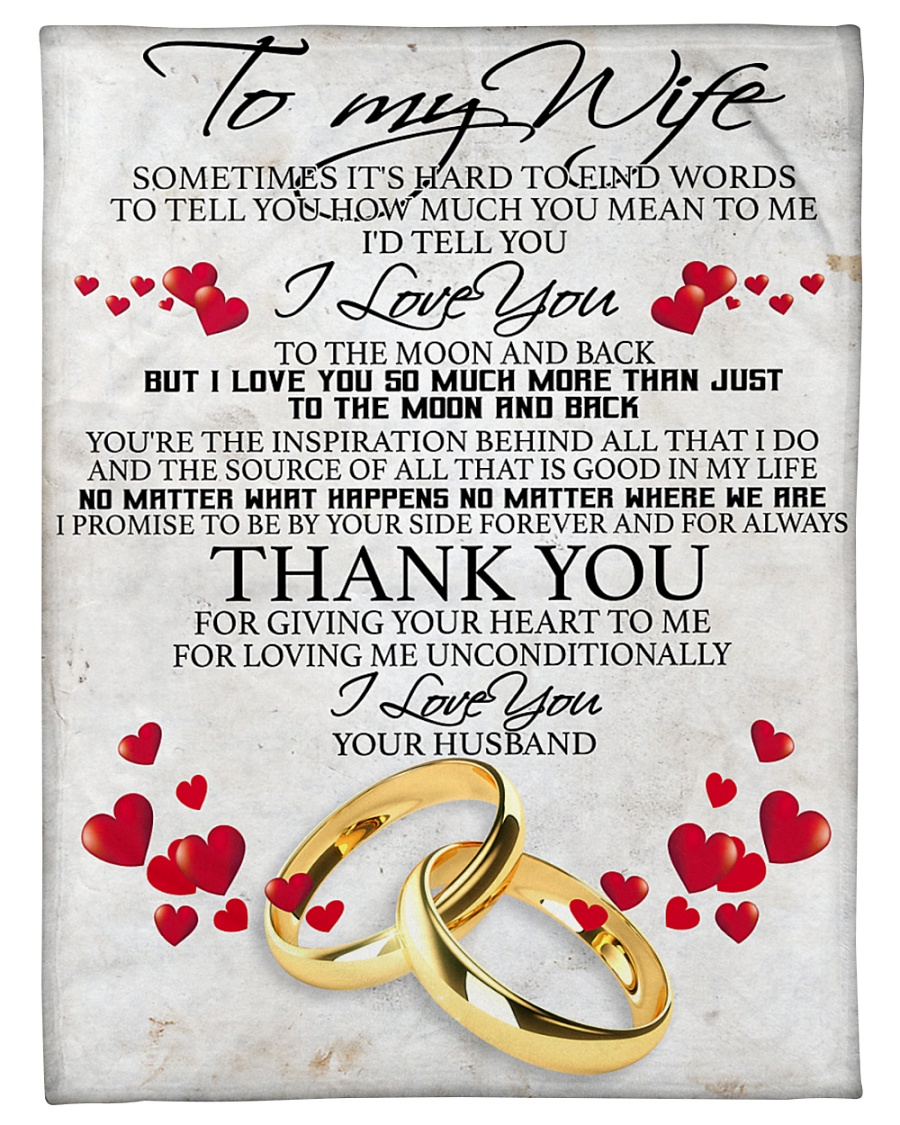 """To my dear wife never forget that i love you Small Fleece Blanket - 30"""" x 40"""""""