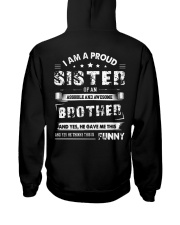 I PROUD SISTER Hooded Sweatshirt back