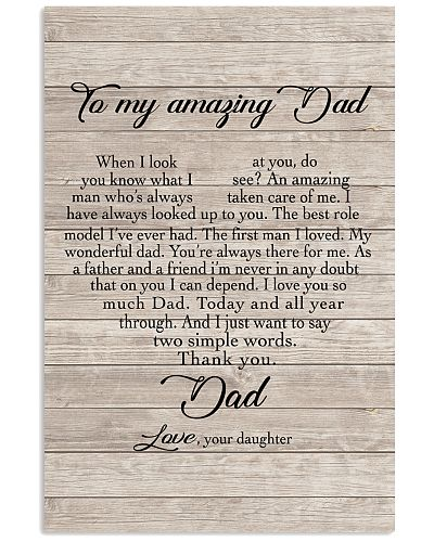 To My Amazing Dad - Daughter