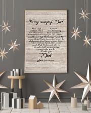 To My Amazing Dad - Daughter 11x17 Poster lifestyle-holiday-poster-1