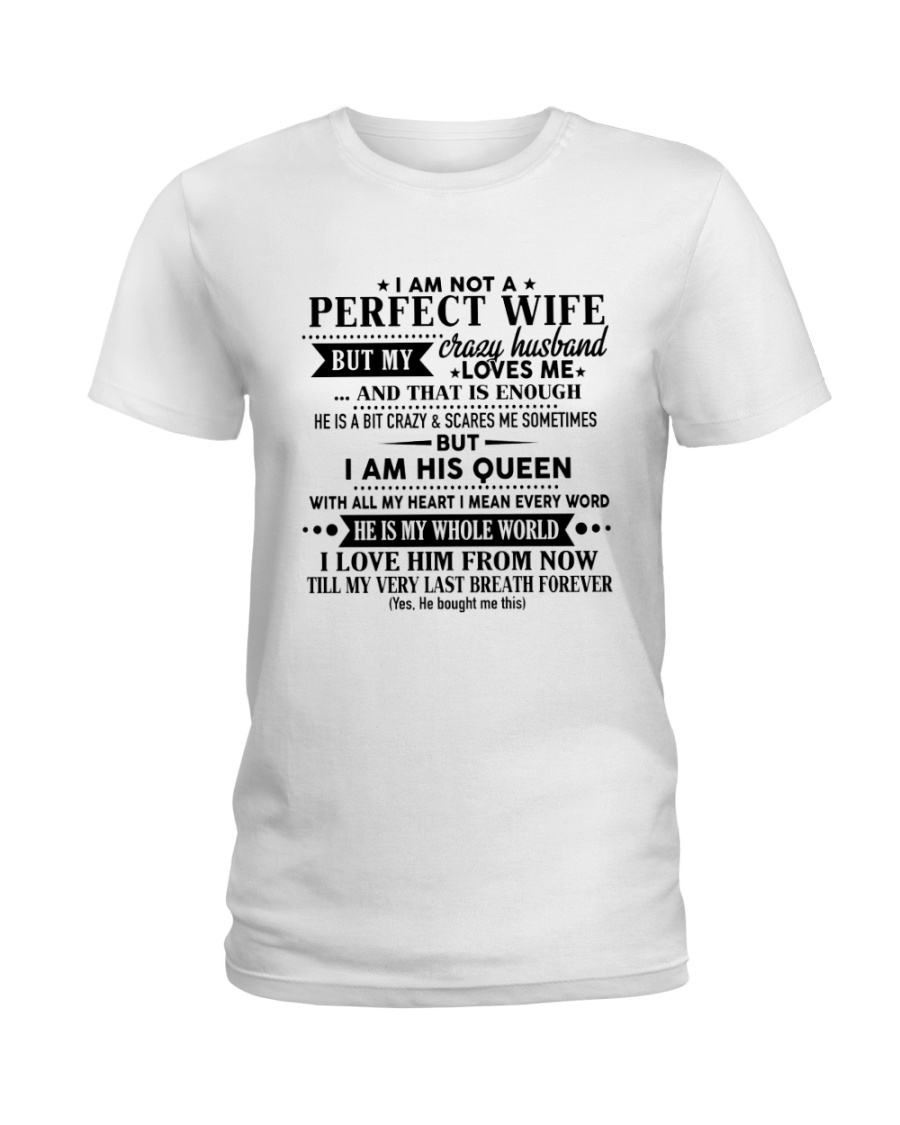 Special gift for wife - C00 Ladies T-Shirt