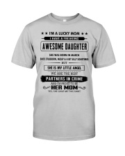 Perfect gifts for Mother - March Classic T-Shirt front