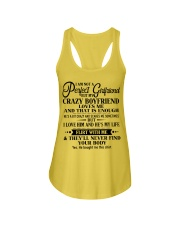 Special gift for girlfriend T0 Upsale Ladies Flowy Tank thumbnail
