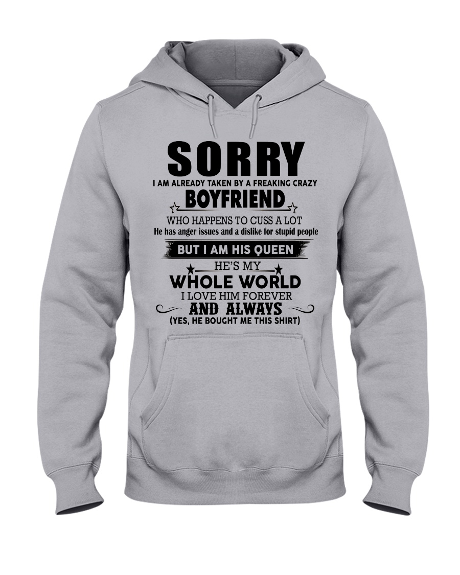 The perfect gift for your girlfriend - nok00 Hooded Sweatshirt