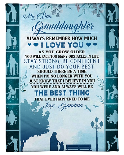 To my granddaughter ever forget that i love you