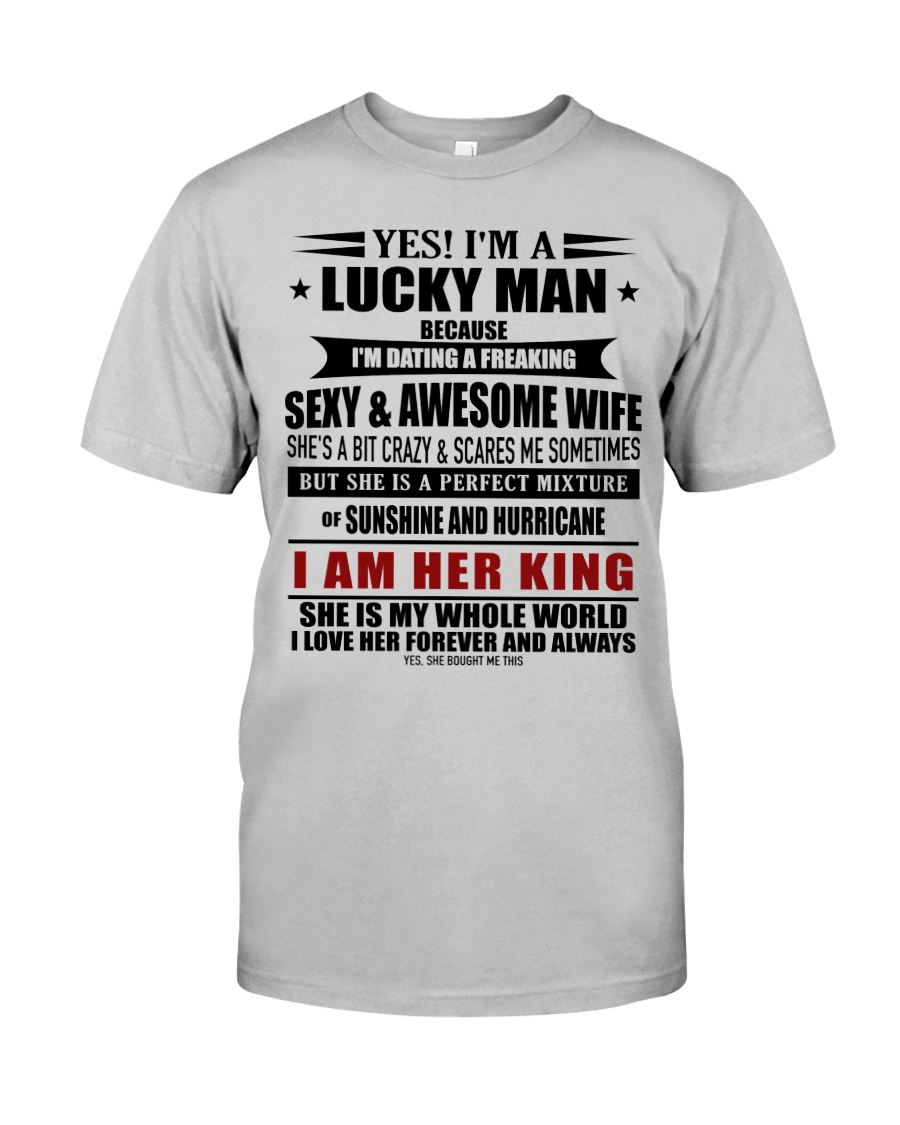 Perfect gift for husband AH00 Classic T-Shirt