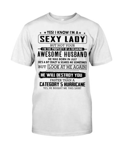 Lucky woman - Husband T07 July RP
