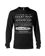 Gift for your husband - Lucky Man T01 Long Sleeve Tee thumbnail