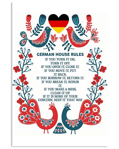 GERMAN HOUSE RULES