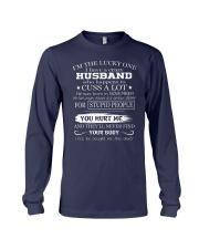I have crazy husband November Long Sleeve Tee thumbnail
