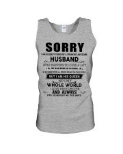 HUSBAND TO WIFE D10 Unisex Tank thumbnail