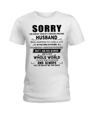 HUSBAND TO WIFE D10 Ladies T-Shirt thumbnail