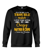 Perfect gift for your children - Grandpa Crewneck Sweatshirt thumbnail