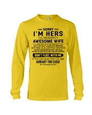 Perfect gifts for Husband- A00 Long Sleeve Tee thumbnail