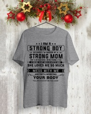 GIFT FOR YOUR SON S00 Classic T-Shirt lifestyle-holiday-crewneck-front-2