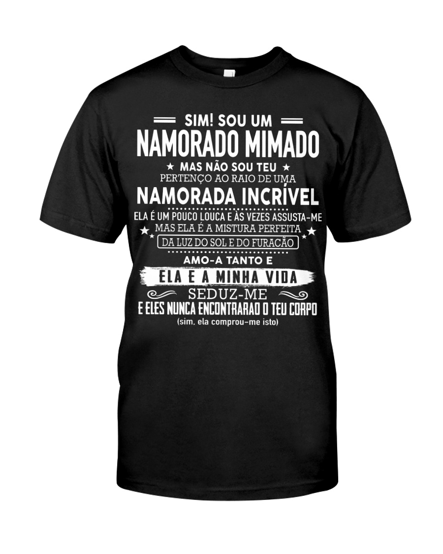 Presente especial para namorado AH00 Classic T-Shirt