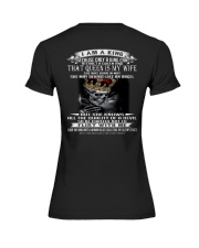 I AM A KING THAT QUEEN IS MY WIFE MAY Premium Fit Ladies Tee thumbnail