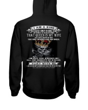 I AM A KING THAT QUEEN IS MY WIFE MAY Hooded Sweatshirt thumbnail