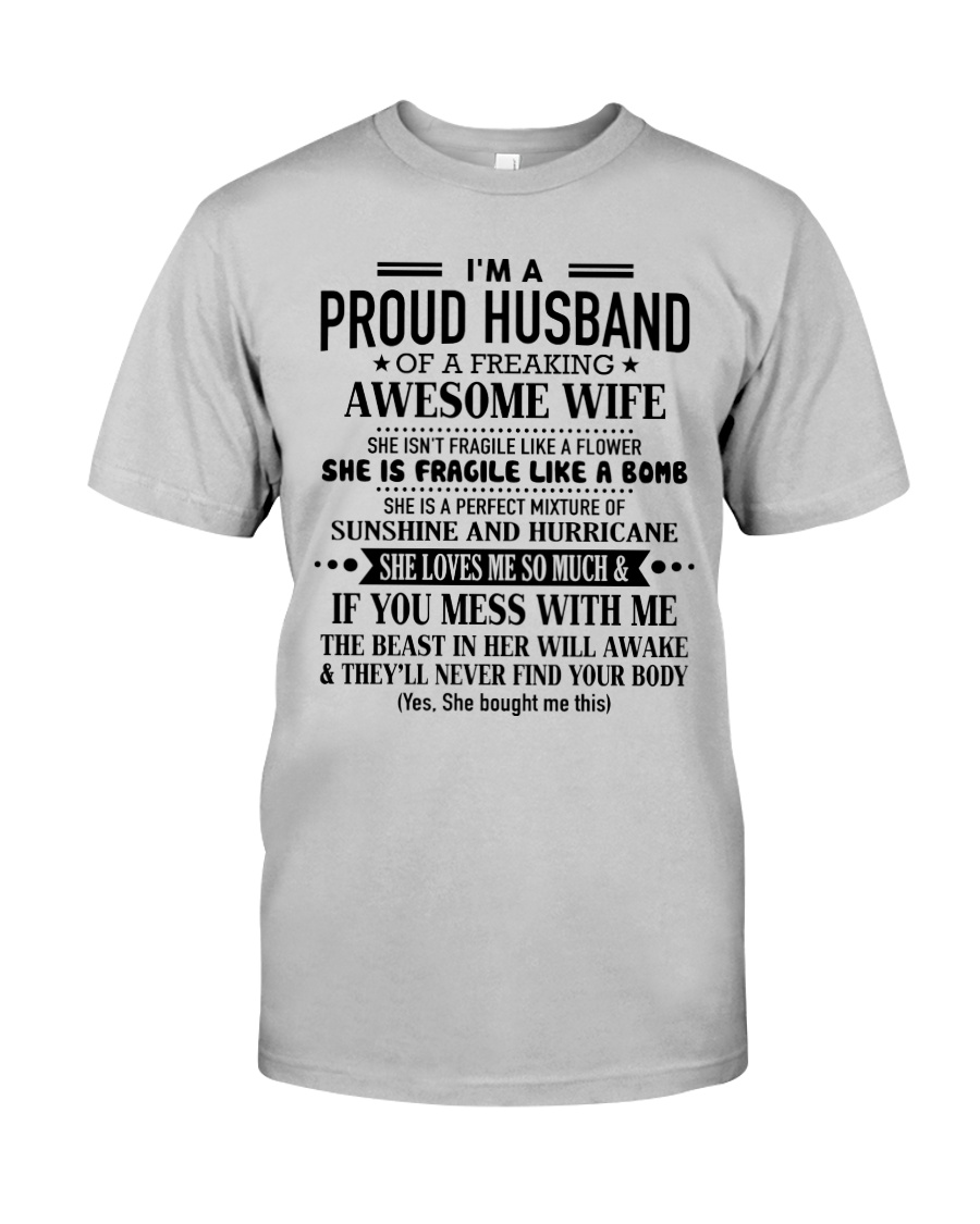 Gift for your husband S-0 Classic T-Shirt