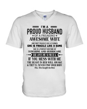 Gift for your husband S-0 V-Neck T-Shirt thumbnail