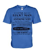 Gift for your husband - T03 March V-Neck T-Shirt thumbnail