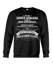 Soy una mujer mimada - Q08 Crewneck Sweatshirt thumbnail
