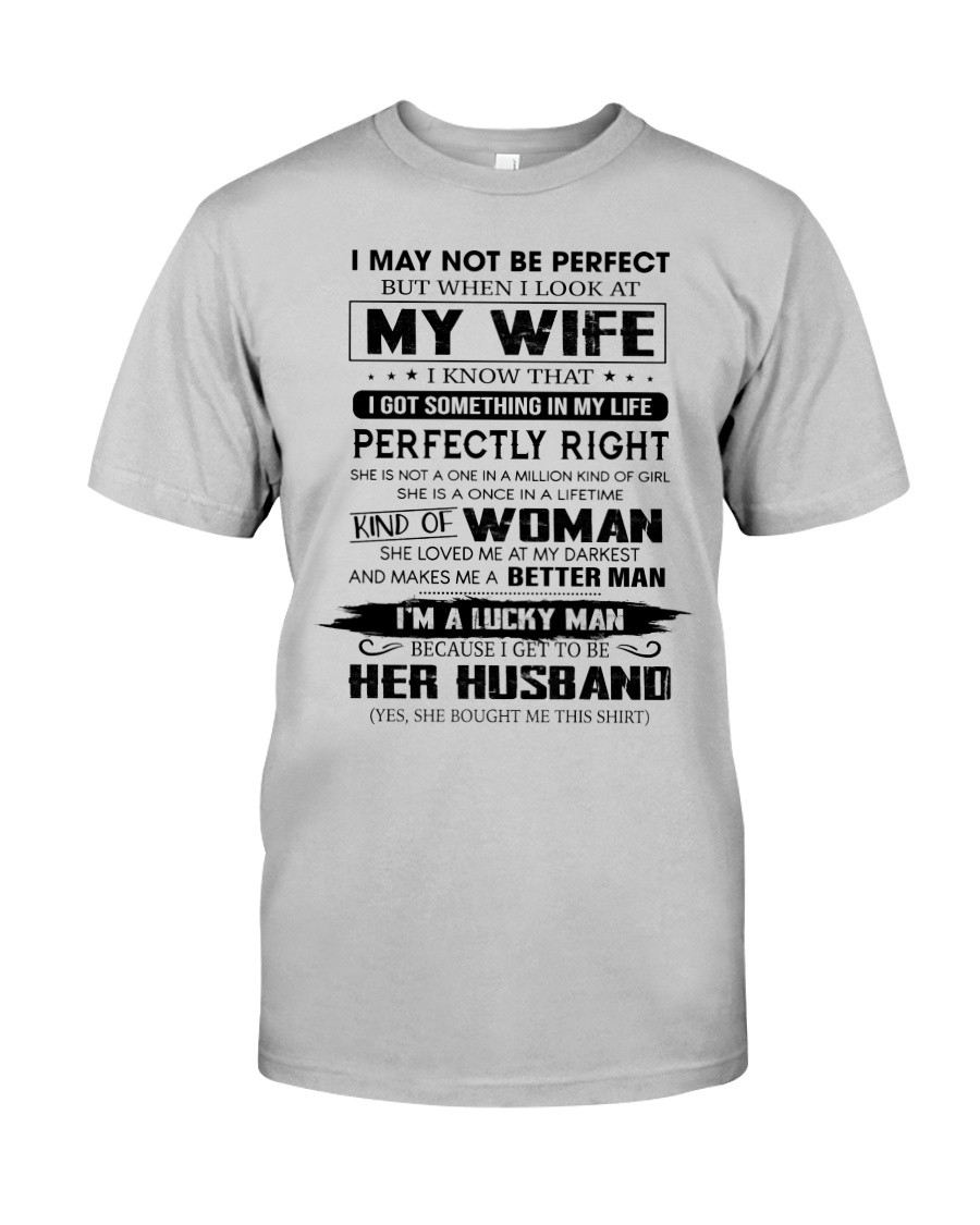 Perfect Gift For Husband Unite96 Classic T-Shirt