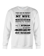 Perfect Gift For Husband Unite96 Crewneck Sweatshirt thumbnail