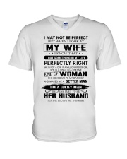 Perfect Gift For Husband Unite96 V-Neck T-Shirt thumbnail