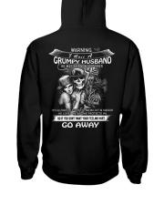 I HAVE A GRUMPY HUSBAND - OCTOBER Hooded Sweatshirt thumbnail