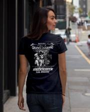 I HAVE A GRUMPY HUSBAND - OCTOBER Ladies T-Shirt lifestyle-women-crewneck-back-1