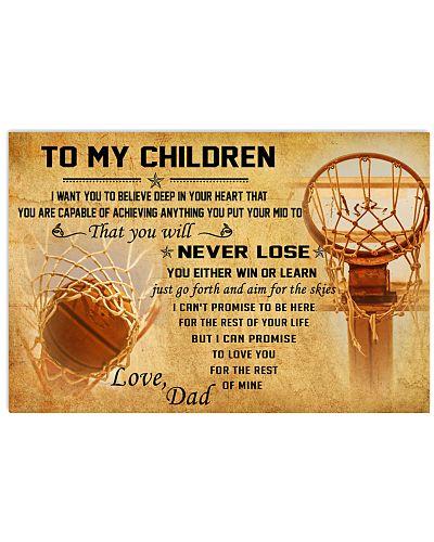 TO MY CHILDREN - basketball - CT