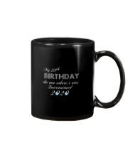 My birthday the one where i was quarantined Mug thumbnail