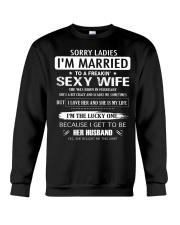 Sorry ladies - I'm married - FEBUARY Crewneck Sweatshirt thumbnail