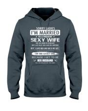 Sorry ladies - I'm married - FEBUARY Hooded Sweatshirt thumbnail