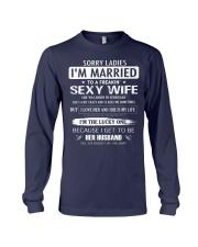Sorry ladies - I'm married - FEBUARY Long Sleeve Tee thumbnail