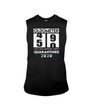 Oldometer 50 the one where i was quarantined 2020 Sleeveless Tee thumbnail