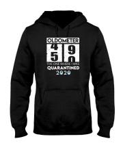 Oldometer 50 the one where i was quarantined 2020 Hooded Sweatshirt thumbnail