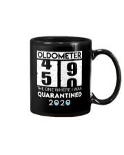 Oldometer 50 the one where i was quarantined 2020 Mug thumbnail