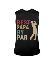 Best Papa By Par Sleeveless Tee thumbnail