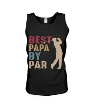 Best Papa By Par Unisex Tank thumbnail
