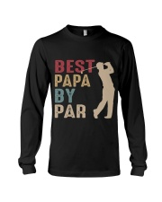 Best Papa By Par Long Sleeve Tee thumbnail