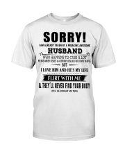 The perfect gift for your WIFE - D Classic T-Shirt thumbnail